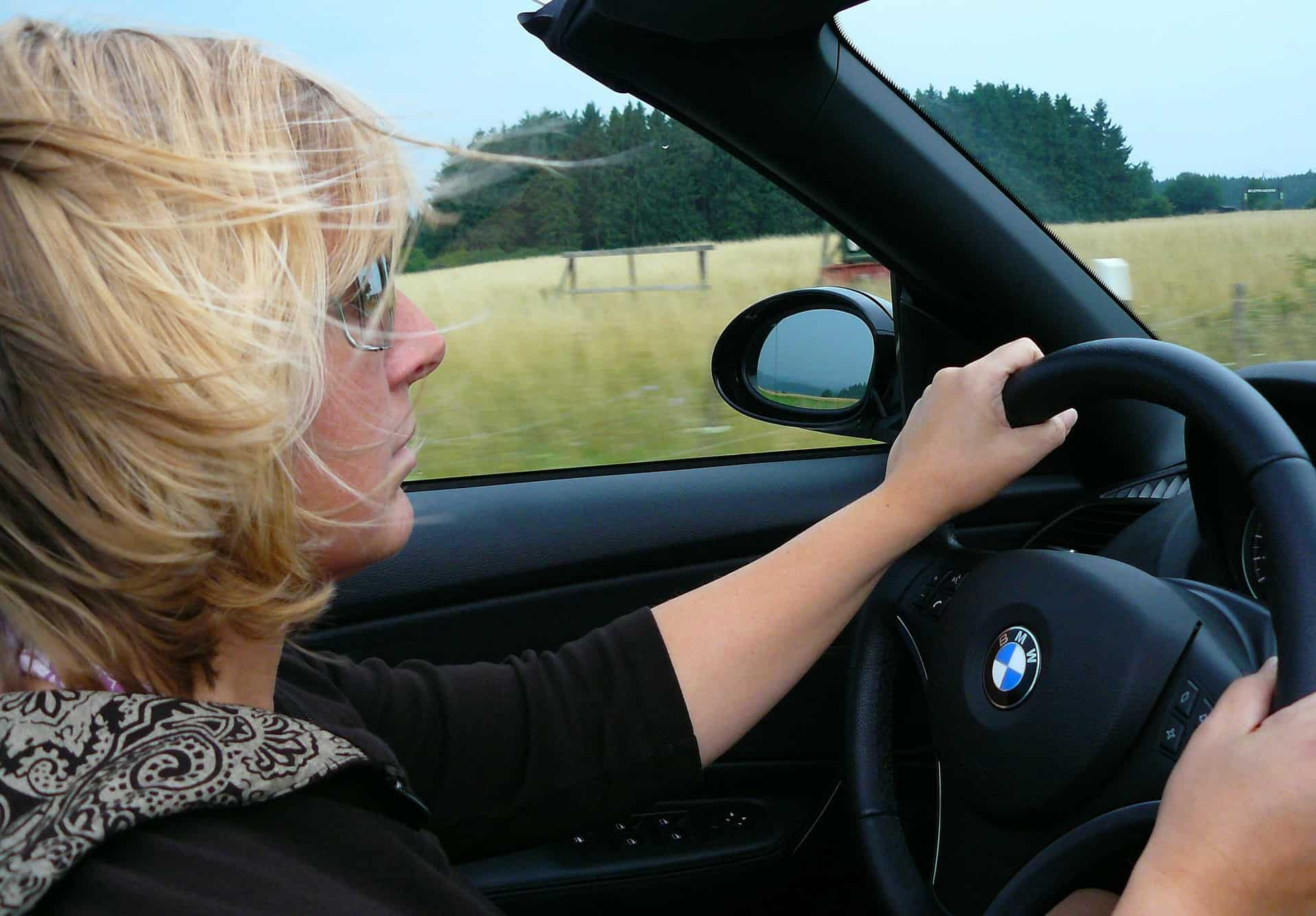 A client driving after successful driver's license restoration case. Tips to get your driver's license back