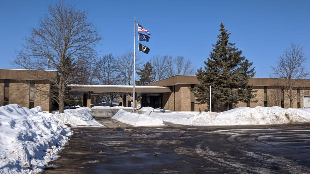 Kalkaska County Courthouse where criminal defense lawyers help their clients.